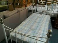 3 ft Metal Bed frame #33050 £30