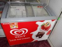 Two icream freezers for sale. Excellent working clean condition. Came straight from a local cafe.