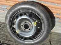 Vauxhall 16 inch spacesaver wheel and tyre
