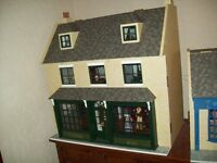 Magpies Dolls Apothecary shop and house