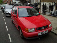Volkswagen VW Polo 5dr 1.4L MOT Red