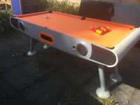 Outdoor Pool / Snooker Table - Includes Balls and Aluminium Weather Top