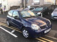 57 plate Renault Clio 1.1 campus, immaculate car