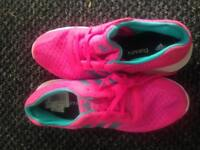 Women's pink adidas trainers size 7