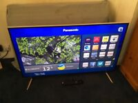 "PANASONIC 48"" 4K 3D SMART LED INTERNET TV WITH FREEVIEW HD BUILT IN."