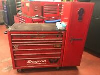Snap on roll cab and side locker