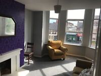 2 bed large apartment near city centre