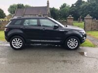 Range Rover Evoque Pure Tech SD4 in Black. New MOT New Service with Full Land Rover Service history
