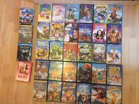 DVD job lot including Disney, Pixar, Dreamworks, and 2 Harry Potter DVDs- 34 DVDs