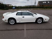 1990 (H Registration) Chargecooled Lotus Esprit Turbo SE, in white