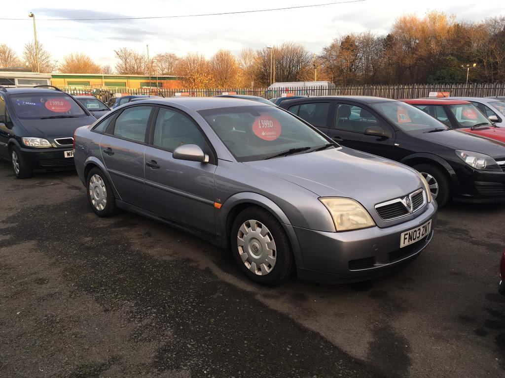 2003 Vauxhall vectra 1.8 ls