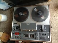 Sony Reel to Reel Tape Recorder with 15+ Tapes