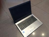 """**CHEAP i7** Clevo N240JU 14"""" High Spec Laptop i7-6500u 2.6ghz, 16gb Ram! 500gb HDD, Wedcam, Hdmi"""