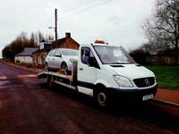 A 2 B vehicle recovery service beavertail breakdown wagon transporter