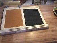 Large heavy duty high quality notice board