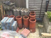 7 chimneys reclaimed red terrocata