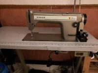 Industrial singer sewing machine
