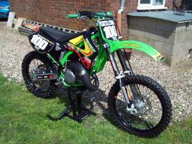 Kawasaki KX 125 Mike Brown Factory Replica Motocross