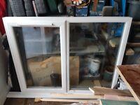 White UPVC DOBLE GLAZED WINDOW