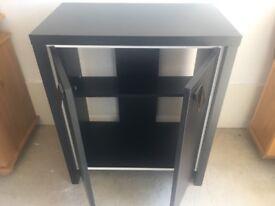 Black matt freestanding cabinet