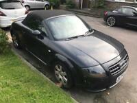 Audi TT Quattro. Turbo 225 Bhp. Perfect drive. Mot. Leather. CRACKED BUMPER