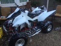 2011 Apache rlx 450 road legal quad