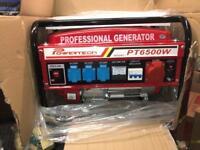 Professional generators 6.5 kVA super silent and 24 hour thank