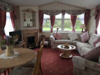 Static caravan immaculate condition on a beautiful family run park 3 miles from Llangrannog