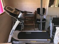 Home use motorised Reebok Z8 Run Treadmill (RE1M-11700), collapsable/folding