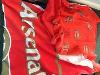 Arsenal boys bedroom