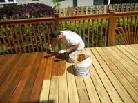 Fence & deck staining! 15% off! Protect your wood from weather