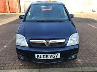 2006 Vauxhall Meriva 1.6 i 16v Design 5dr (a/c) Manual @07445775115