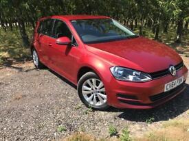 2014 Volkswagen Golf 1.6 TDI BlueMotion Tech SE (s/s) (18,000 Mile FSH Volkswagen) Finance arranged.