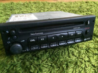 Vauxhall Vectra standard factory fitted stereo/cd player