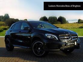 Mercedes-Benz GLA Class GLA 220 D 4MATIC AMG LINE PREMIUM (black) 2016-10-31
