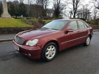 Mercedes Auto C180 Elegance SE, only 76000 miles, full service history and 12mnths MOT