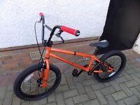 Saracen BMX bikes.