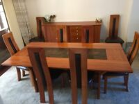 Dinning table 8 chairs