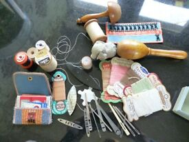 Vintage & Antique Sewing ephemera