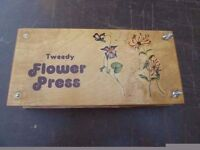 1980's Tweedy Flower Press Delivery available