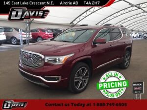 2018 GMC Acadia Denali BOSE AUDIO, NAVIGATION, 2-PANEL SUNROOF