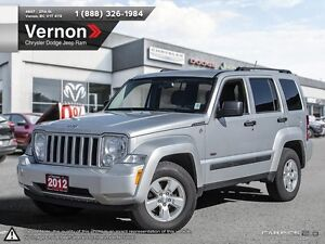 2012 Jeep Liberty Sport 4D 4WD BLUETOOTH | AUX-IN