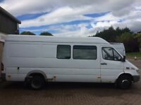 Mercedes 413CDi Sprinter Splitter/Tour Van
