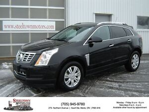 2016 Cadillac SRX4 AWD Luxury Collection|H/Leather|NAV|Pano Roof