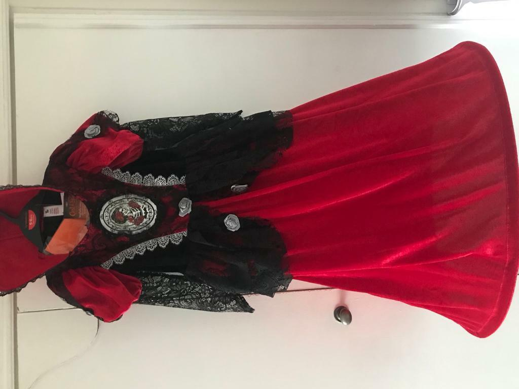 Girls 5-6y Halloween dress