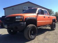 2006 GMC SIERRA 2500HD DURAMAX GUARDIT PACKAGE!!