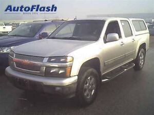 2010 Chevrolet Colorado LT Crew-cab * 5.3L V8!!! * Rare! Cuir/Le