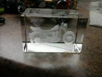 Glass moterbike