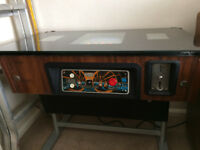 Taito Space Invader Cocktail Cabinet / Coffee Table / Sit Down Machine - Totally Original 1970's
