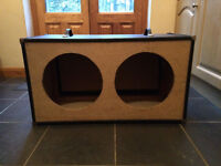 Speaker Cabinet 2x12 Carcass Empty